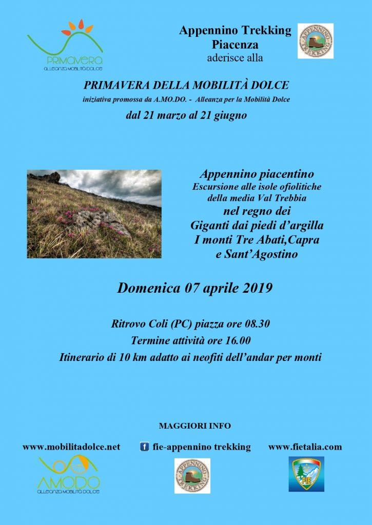 Escursioni FIe Appennino Piacentino 2019
